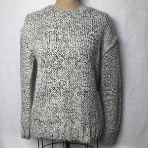 J. Crew textured knit crew neck sweater